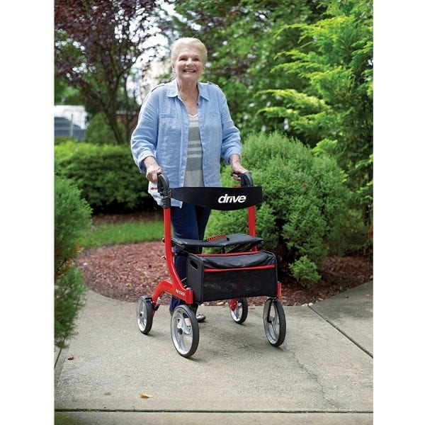 Rollator - Drive Medical - Nitro - Lifestyle picture