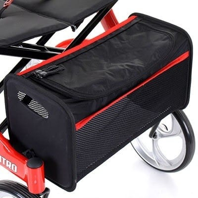 Rollator - Drive Medical - Nitro - Removable bag