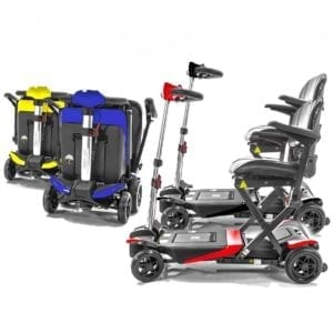Mobility Scooter - Transformer - Automatic Folding - Color Options