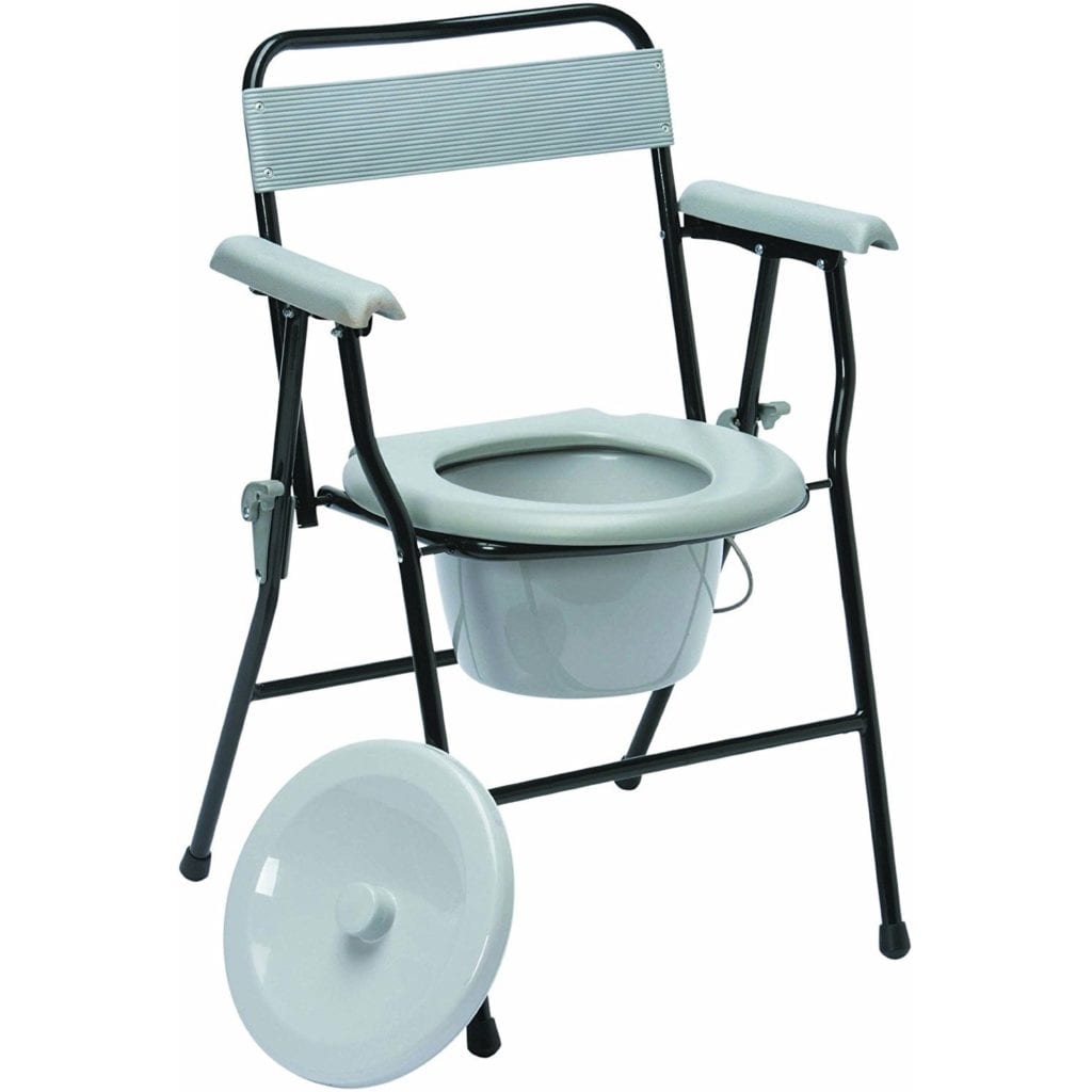 Commode Drive Medical Folding Fixed Height