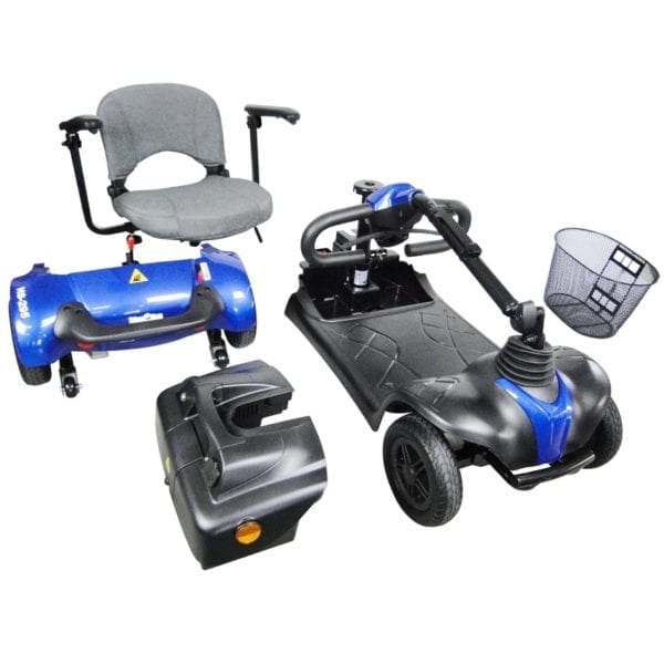 Mobility Scooter - CTM - HS 295 - Blue - Disassembed