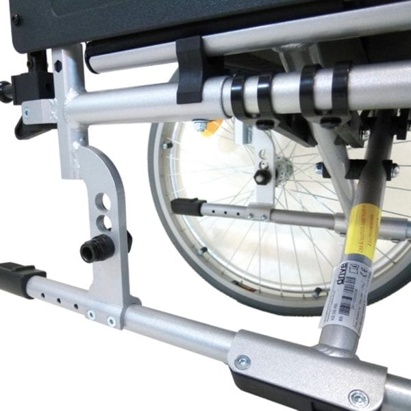 Wheelchair - Drive Medical - Freetec Adjustments