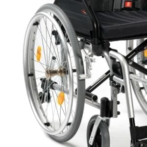 Wheelchair - Drive Medical - XS2 Aluminium - Quick Release Wheels