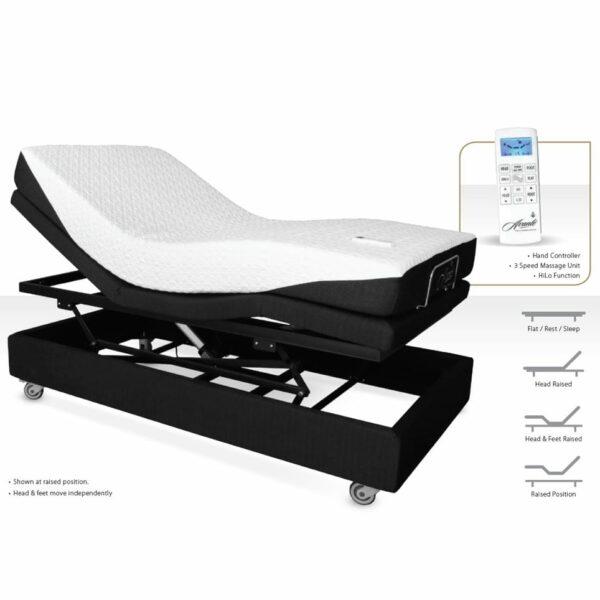 Homecare Bed - Avante - V3 - SmartFlex - Functions