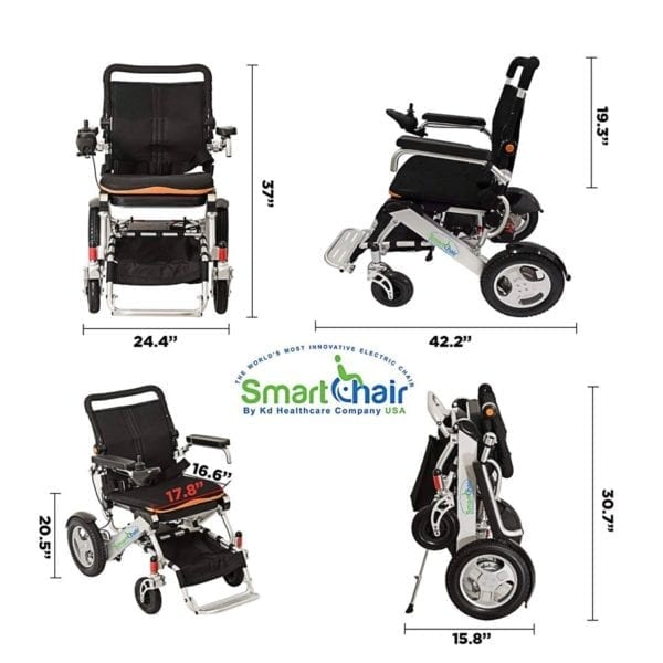 Electric Folding Wheelchair – KD Smart - Special Edition - Compact Size