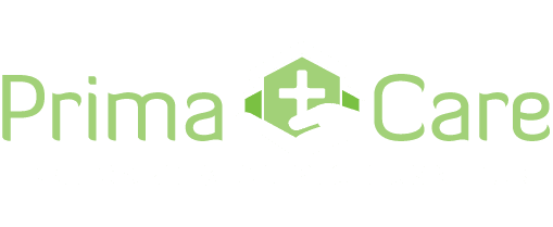 PrimaCare White Logo