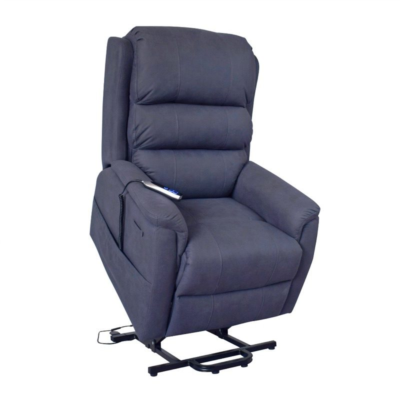 Rise Recliner - Dr Mobility - Milano - Lift Chair - Midnight Blue