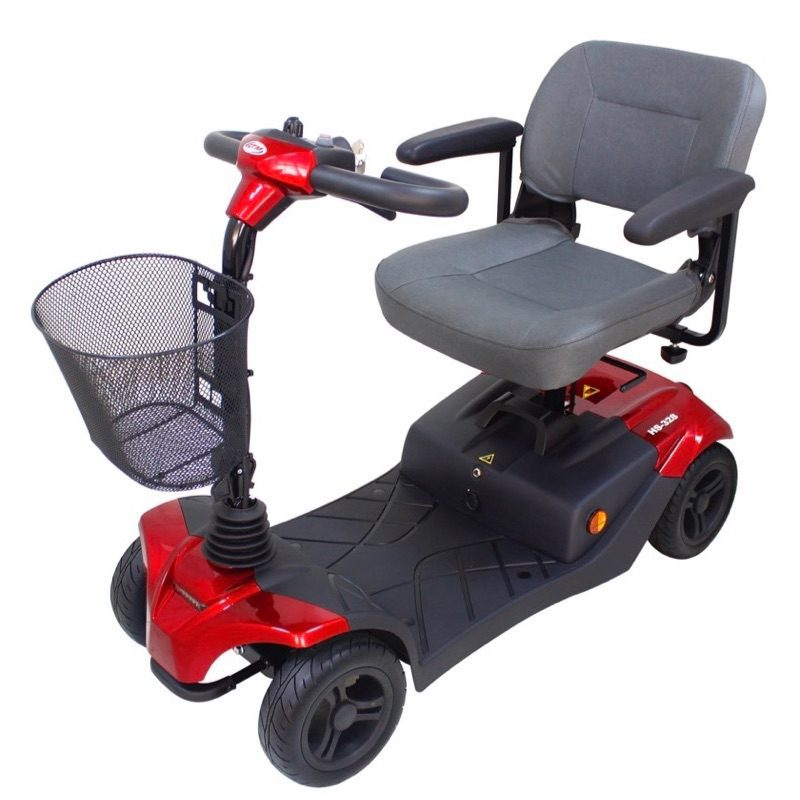 Mobility Scooter - CTM - HS328 - Red