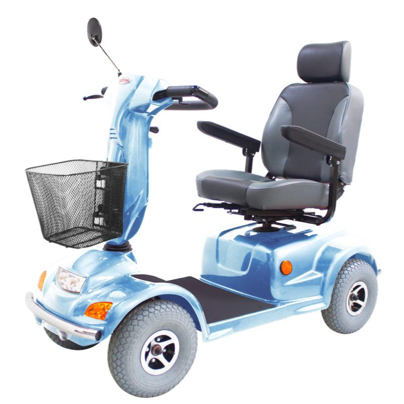 Mobility scooter - CTM - HS890 - Ice Blue