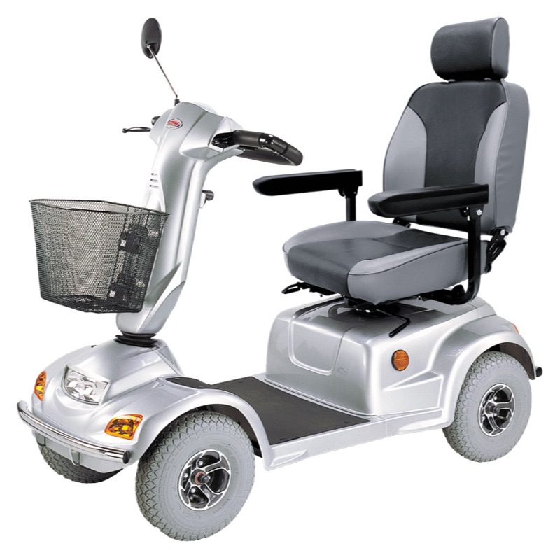 Mobility scooter - CTM - HS890 - Silver