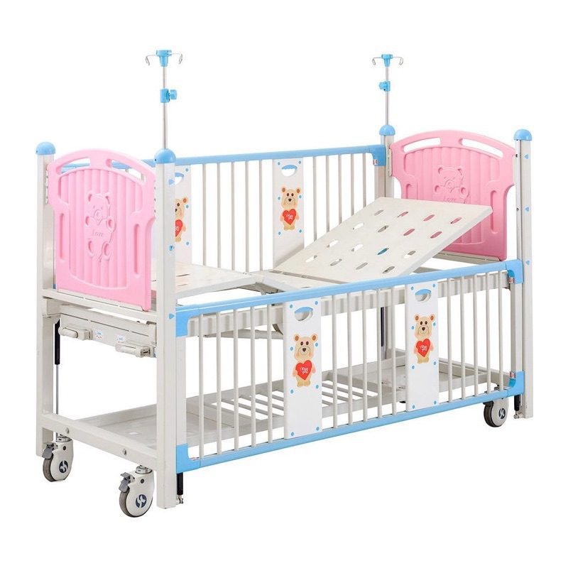 Crank Operated Pediatric Hospital Bed